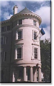 The new Estonian Embassy Chancery opened on Massachusetts Avenue, on
