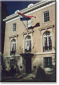 The Croatian Chancery on Massachusetts Avenue.