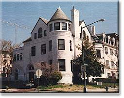 The Chancery of the Embassy of the Kingdom of Morocco is located not far from Massachusetts Avenue's