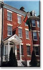 Chancery of the Embassy of Turkmenistan, on Massachusetts Avenue (along