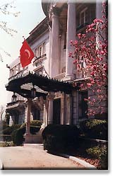 The old Turkish Embassy Chancery on Massachusetts Avenue at Sheridan Circle.