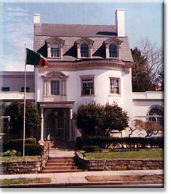 Chancery of the Embassy of Zambia, on