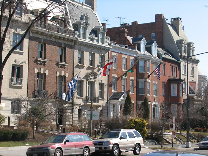 Embassies on Massachusetts Avenue