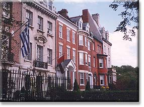 Embassies along Embassy Row