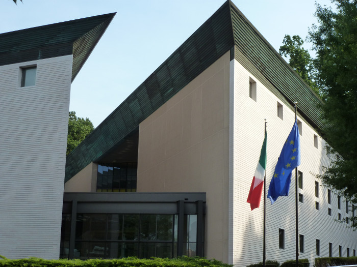 The Embassy of Italy.