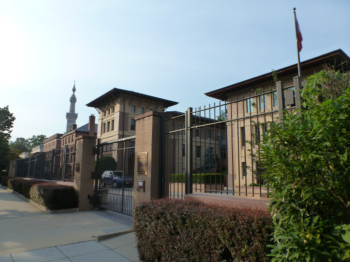The Turkish Embassy on Embassy Row.