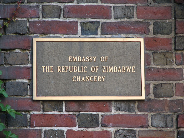 The Embassy of Zimbabwe